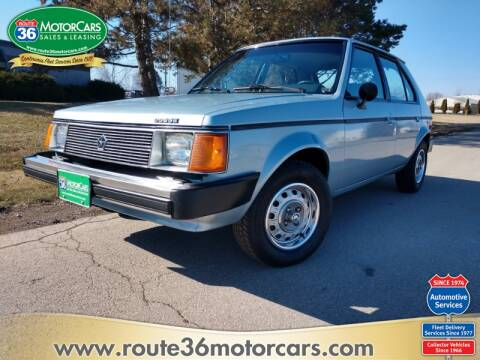 1985 Dodge Omni for sale at ROUTE 36 MOTORCARS in Dublin OH