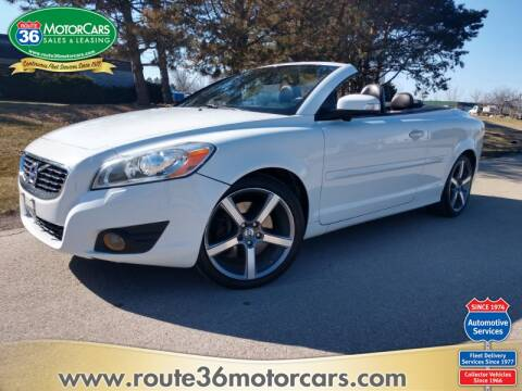 2013 Volvo C70 for sale at ROUTE 36 MOTORCARS in Dublin OH