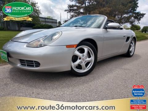 1999 Porsche Boxster for sale at ROUTE 36 MOTORCARS in Dublin OH