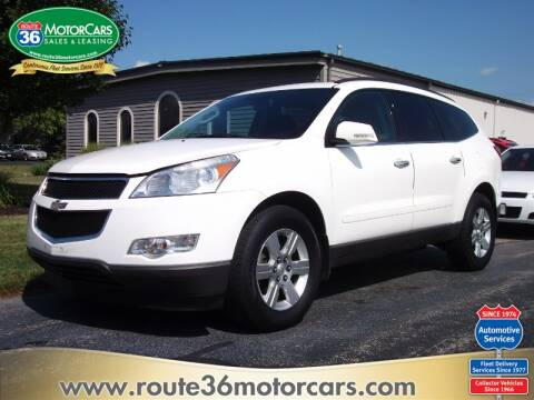 2012 Chevrolet Traverse LT for sale at ROUTE 36 MOTORCARS in Dublin OH