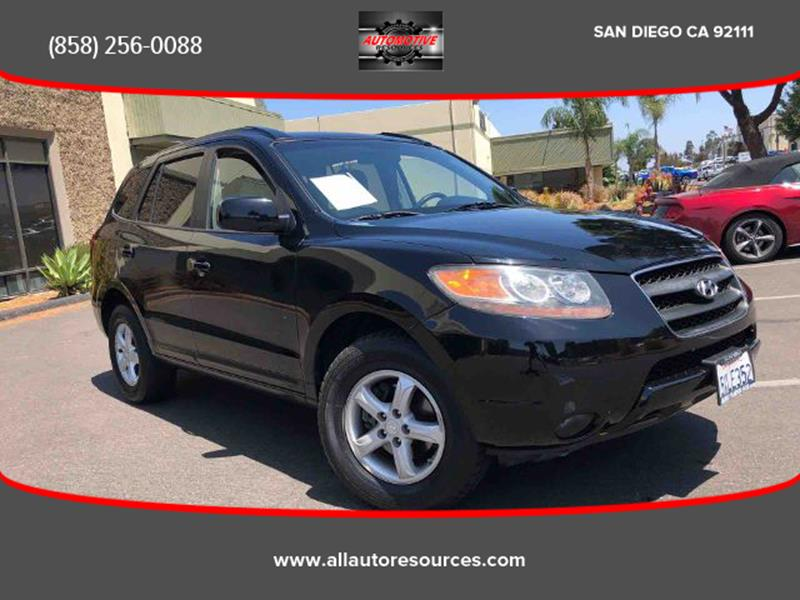 2007 Hyundai Santa Fe For Sale At Automotive Resources In San Diego CA