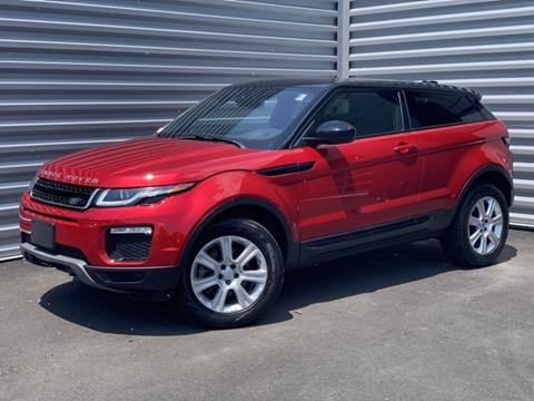 2016 Land Rover Range Rover Evoque Coupe for sale in Canton, CT