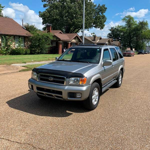 2001 Nissan Pathfinder For Sale At Memphis Auto Sales In Memphis TN