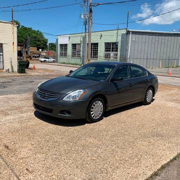 2012 Nissan Altima for sale at Memphis Auto Sales in Memphis TN
