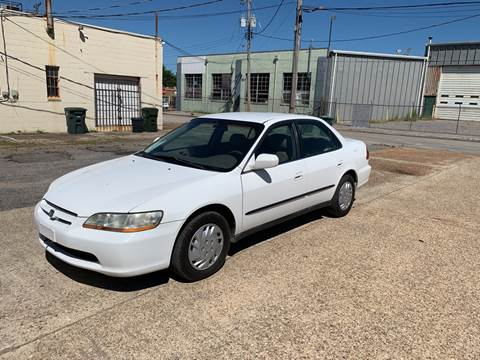 1999 Honda Accord for sale at Memphis Auto Sales in Memphis TN