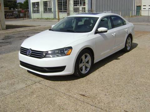 2013 Volkswagen Passat for sale at Memphis Auto Sales in Memphis TN