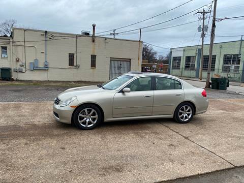 2005 Infiniti G35 for sale at Memphis Auto Sales in Memphis TN
