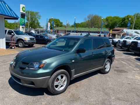 2003 Mitsubishi Outlander for sale at Memphis Auto Sales in Memphis TN