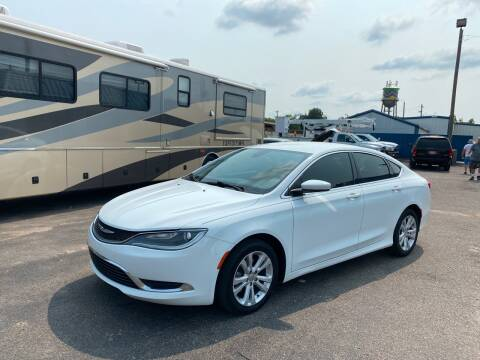 2015 Chrysler 200 for sale at Memphis Auto Sales in Memphis TN