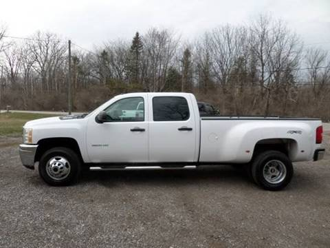 2013 Chevrolet Silverado 3500HD for sale at Apex Auto Sales LLC in Petersburg MI