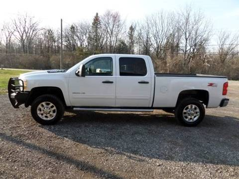 2014 Chevrolet Silverado 2500HD for sale at Apex Auto Sales LLC in Petersburg MI