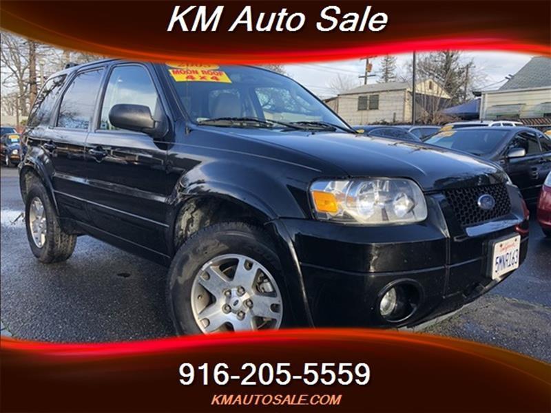 2005 Ford Escape for sale at KM Auto Sale in Sacramento CA
