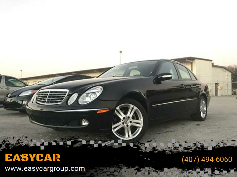 2006 Mercedes Benz E Class For Sale At EASYCAR In Orlando FL