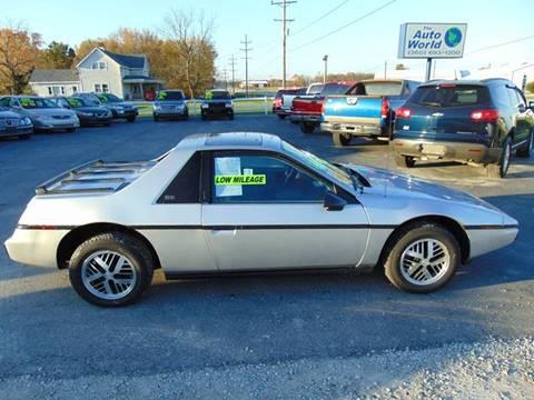1985 Pontiac Fiero for sale in Churubusco, IN