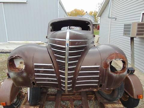 1939 Plymouth P7 for sale in Churubusco, IN