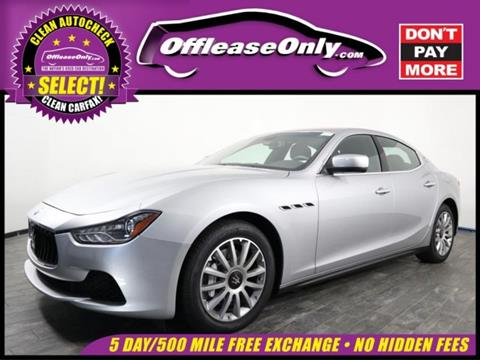 2014 Maserati Ghibli for sale in North Lauderdale, FL