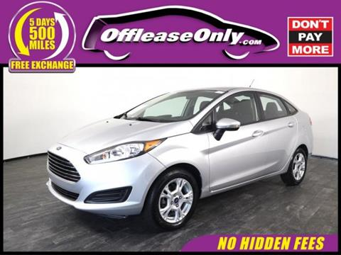 2015 Ford Fiesta for sale in North Lauderdale, FL