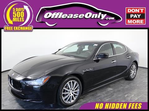 2014 Maserati Ghibli for sale in North Lauderdale, FL