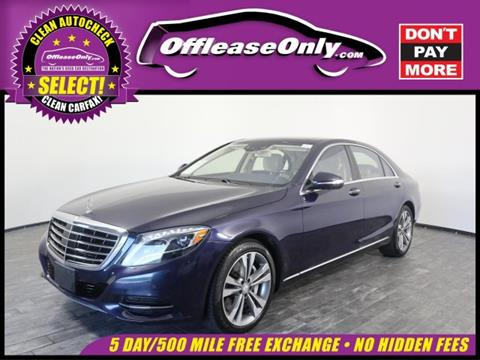 2015 Mercedes-Benz S-Class for sale in North Lauderdale, FL