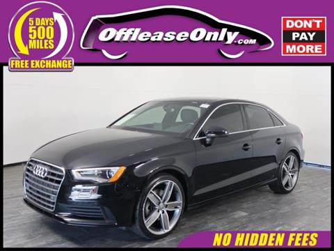 2015 Audi A3 for sale in North Lauderdale, FL