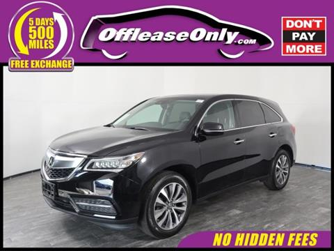 2016 Acura MDX for sale in North Lauderdale, FL