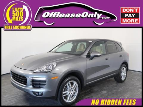 2016 Porsche Cayenne for sale in North Lauderdale, FL