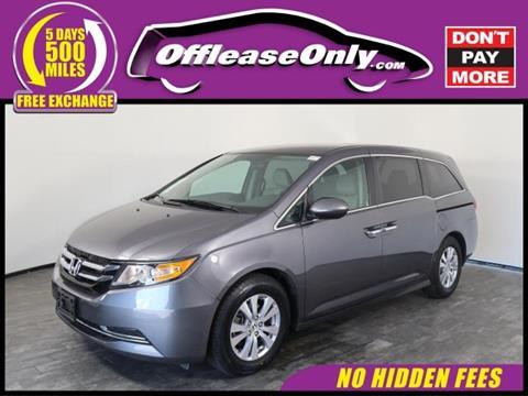2016 Honda Odyssey for sale in North Lauderdale, FL