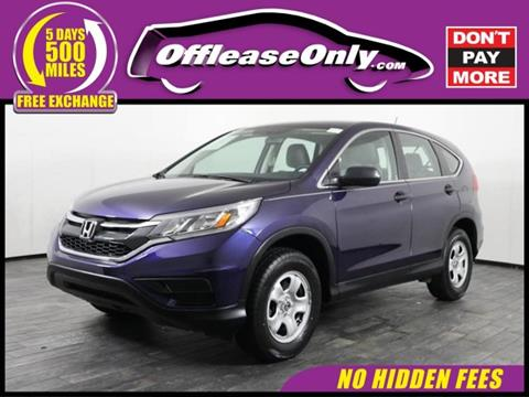 2015 Honda CR-V for sale in North Lauderdale, FL