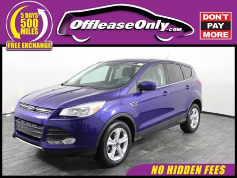 2016 Ford Escape for sale in North Lauderdale, FL