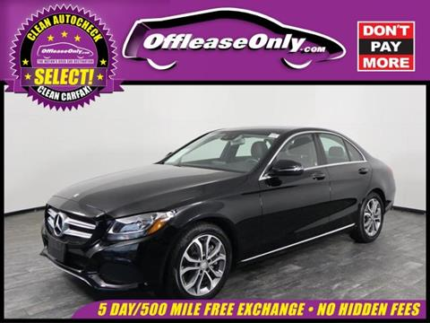 2016 Mercedes-Benz C-Class for sale in North Lauderdale, FL