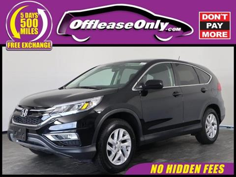 2016 Honda CR-V for sale in North Lauderdale, FL