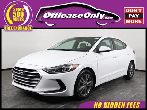 2017 Hyundai Elantra for sale in North Lauderdale, FL