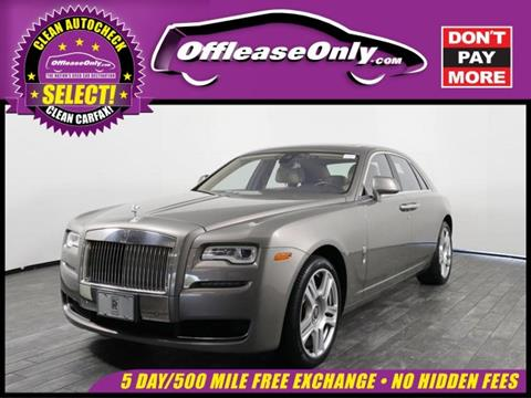 2015 Rolls-Royce Ghost for sale in North Lauderdale, FL