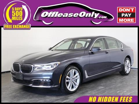 2016 BMW 7 Series for sale in North Lauderdale, FL