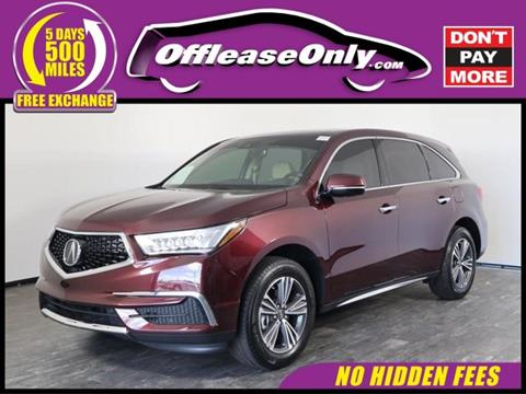 2017 Acura MDX for sale in North Lauderdale, FL