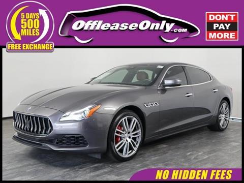 2017 Maserati Quattroporte for sale in North Lauderdale, FL