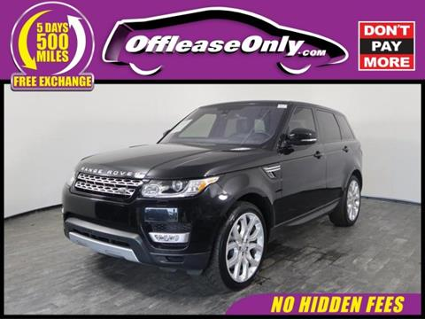 2016 Land Rover Range Rover Sport for sale in North Lauderdale, FL