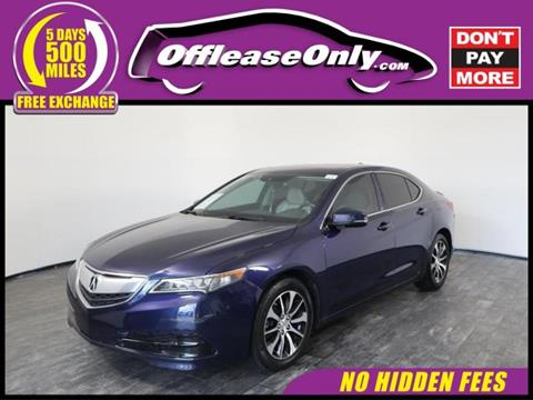 2015 Acura TLX for sale in North Lauderdale, FL