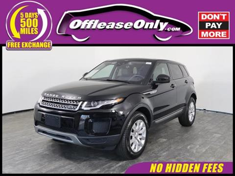 2018 Land Rover Range Rover Evoque for sale in North Lauderdale, FL