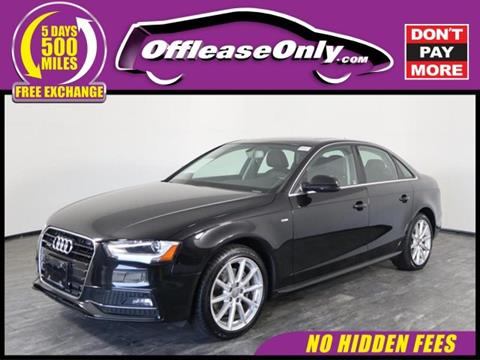 2015 Audi A4 for sale in North Lauderdale, FL