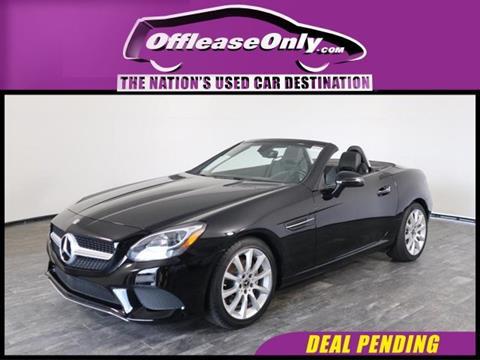 2017 Mercedes-Benz SLC for sale in North Lauderdale, FL