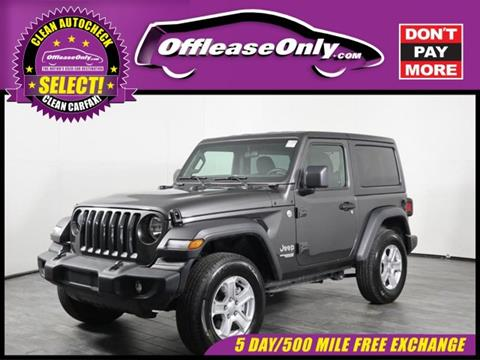 2019 Jeep Wrangler for sale in North Lauderdale, FL