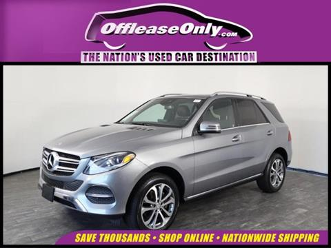 2016 Mercedes-Benz GLE for sale in North Lauderdale, FL
