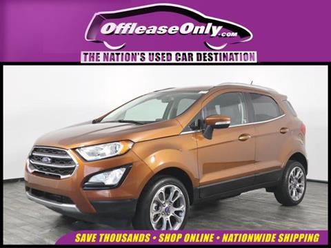 2018 Ford EcoSport for sale in North Lauderdale, FL