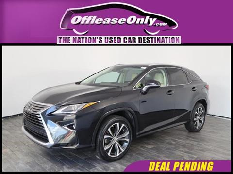 2016 Lexus RX 350 for sale in North Lauderdale, FL