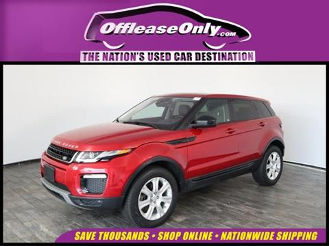 2016 Land Rover Range Rover Evoque for sale in North Lauderdale, FL