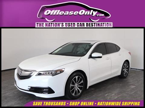2016 Acura TLX for sale in North Lauderdale, FL