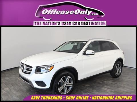2016 Mercedes-Benz GLC for sale in North Lauderdale, FL