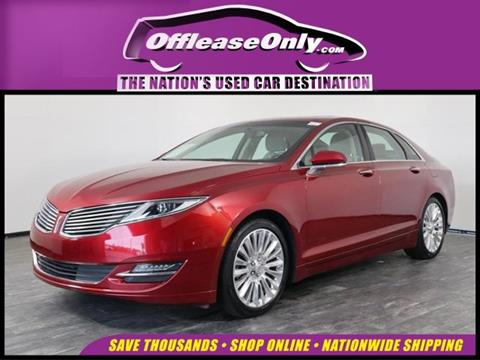 2016 Lincoln MKZ for sale in North Lauderdale, FL