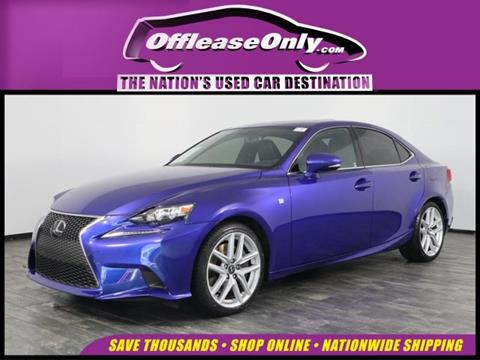 2016 Lexus IS 200t for sale in North Lauderdale, FL